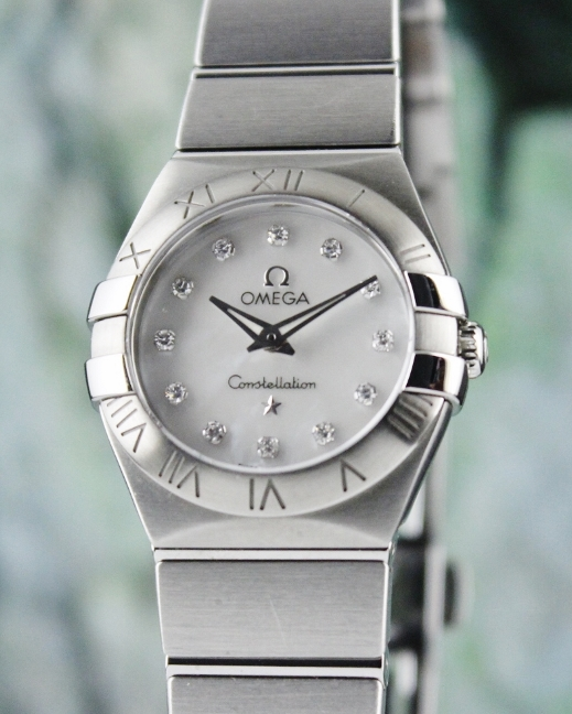 Omega Constellation MOP Dial Stainless Steel Watch / 12310276055004